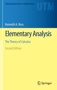 Image for Elementary analysis  : the theory of calculus