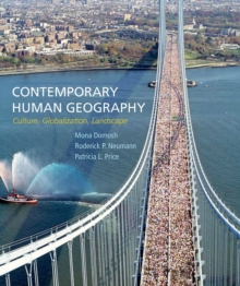 Image for Contemporary human geography  : culture, globalization, landscape