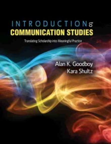 Image for INTRODUCTION TO COMMUNICATION STUDI