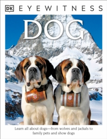 Image for DK Eyewitness Books: Dog : Learn All About Dogs from Wolves and Jackals to Family Pets and Show Dogs