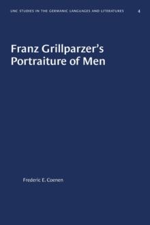 Image for Franz Grillparzer's Portraiture of Men