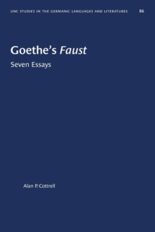 Image for Goethe's Faust : Seven Essays