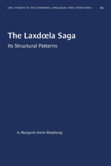Image for The Laxdoela Saga : Its Structural Patterns