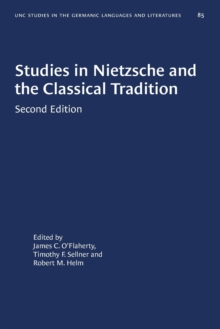 Image for Studies in Nietzsche and the Classical Tradition