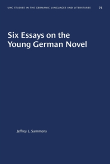 Image for Six Essays on the Young German Novel