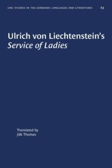 Image for Ulrich von Liechtenstein's Service of Ladies
