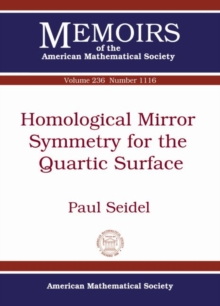 Image for Homological Mirror Symmetry for the Quartic Surface