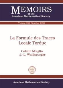 Image for La formule des traces locale tordue