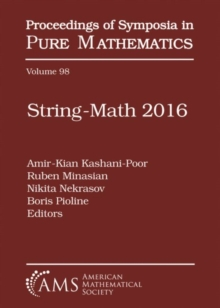 Image for String-Math 2016