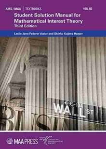 Image for Student Solution Manual for Mathematical Interest Theory