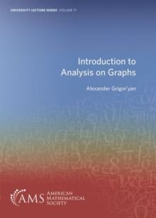Image for Introduction to Analysis on Graphs