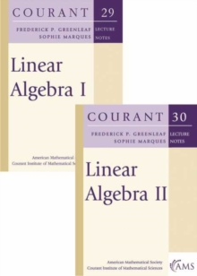 Image for Linear Algebra (Volumes I and II) : The Set