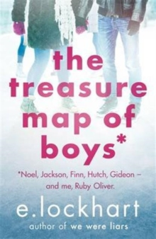 Image for The treasure map of boys  : Noel, Jackson, Finn, Hutch, Gideon - and me, Ruby Oliver