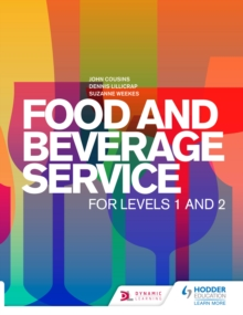 Image for Food and beverage service for levels 1 and 2