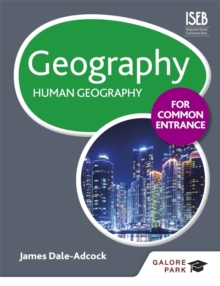 Image for Geography for common entrance: Human geography