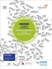 Image for WJEC Eduqas GCSE English literature skills for literature and the unseen poetry: Student's book