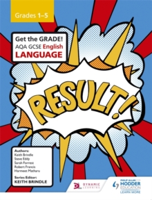 Image for AQA GCSE English languageGrades 1-5,: Result!