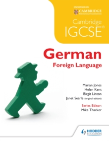Image for Cambridge IGCSE and international certificate German foreign language