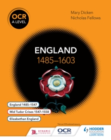 Image for OCR A level history.: (England 1485-1603)