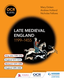Image for Ocr A level history.: (Late Medieval England, 1199-1455)
