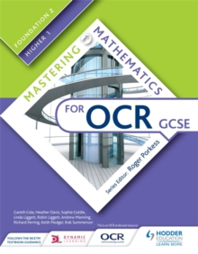 Mastering mathematics for OCR GCSEFoundation 2/Higher 1