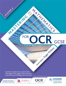 Image for Mastering mathematics for OCR GCSEHigher 2