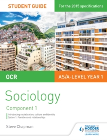 Image for OCR A Level Sociology Student Guide 1: Socialisation, Culture and Identity with Family