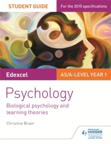 Image for Edexcel psychology  : biological psychology and learning theories: Student guide