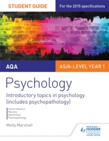 AQA psychology  : student guide1 - Marshall, Molly