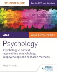 AQA psychology2,: Psychology in context : - Marshall, Molly