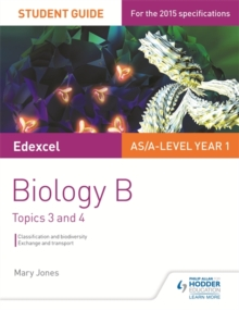 Edexcel biology BStudent guide 2 - Jones, Mary