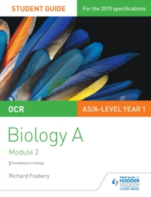 Image for OCR biology: a student guide. (Foundations in biology)