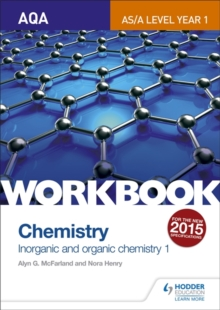 Image for AQA A-level/AS chemistry workbook1: Inorganic and organic chemistry