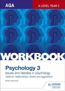 AQA psychology for A level workbook 3  : component 3 - Marshall, Molly