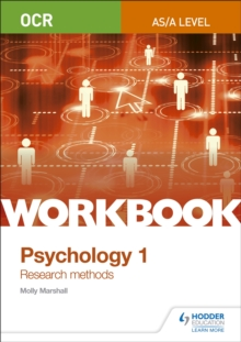 OCR psychology for A levelWorkbook 1,: Research methods - Marshall, Molly