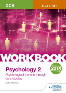 OCR psychology for A levelWorkbook 2,: Core studies and approaches - Marshall, Molly