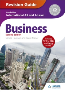 Image for Cambridge international AS/A level business: Revision guide