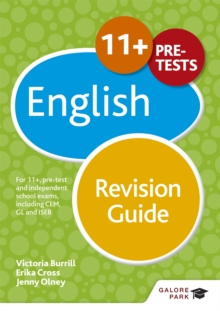 Image for 11+ English revision guide  : for 11+, pre-test and independent school exams including CEM, GL and ISEB