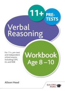 Image for Verbal Reasoning Workbook Age 8-10 : For 11+, pre-test and independent school exams including CEM, GL and ISEB