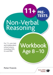Image for Non-verbal reasoning workbook  : for 11+, pre-test and independent school exams including CEM, GL and ISEB