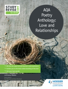 Image for Study and Revise: AQA Poetry Anthology: Love and Relationships