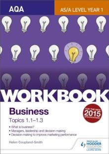 AQA A-level businessWorkbook 1 - Smith, Helen Coupland