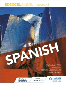 Image for Edexcel A Level Spanish (includes AS)