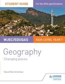 Image for WJEC/Eduqas AS/A-level geography.: (Changing places)