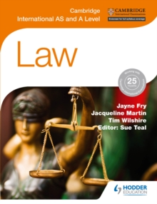 Image for Cambridge international AS and A Level law