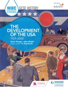 Image for WJEC Eduqas GCSE history.: (The development of the USA, 1929-2000)
