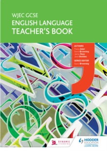 Image for WJEC GCSE English language.: (Teacher's book)