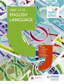 Image for WJEC GCSE English language: Student's book