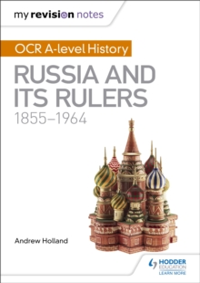Image for OCR A-level history: Russia and its rulers, 1855-1964