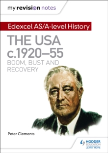 Image for Edexcel AS/A-level history: The USA, c1920-55, boom, bust and recovery